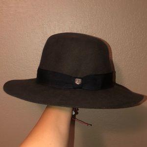 Full Brim Olive Green Brixton Hat